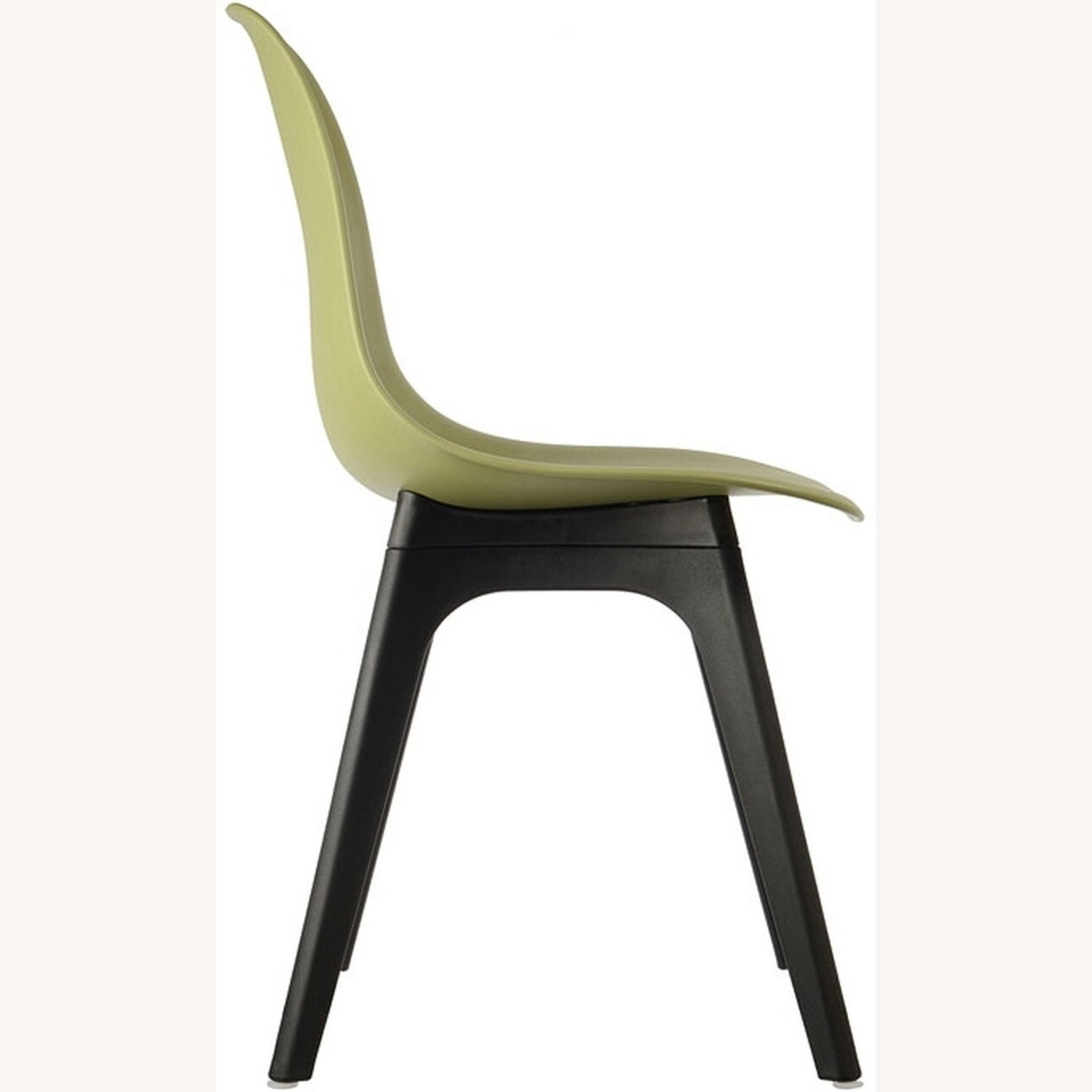Side Chair In Lime Color Finish - image-2