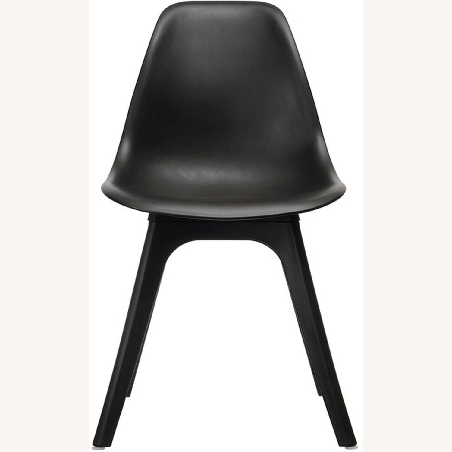 Side Chair In Black Color Finish - image-1