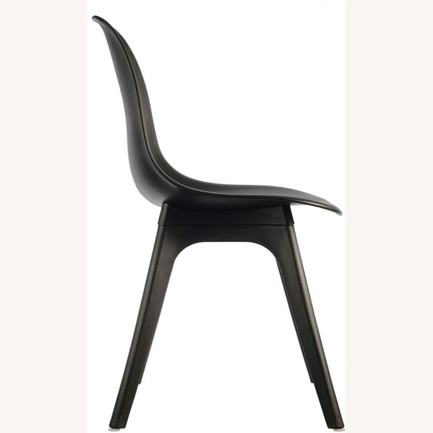 Side Chair In Black Color Finish - image-2