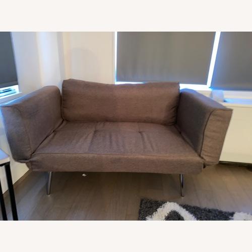 Used Wayfair Leyla Tight back Convertible Sofa for sale on AptDeco