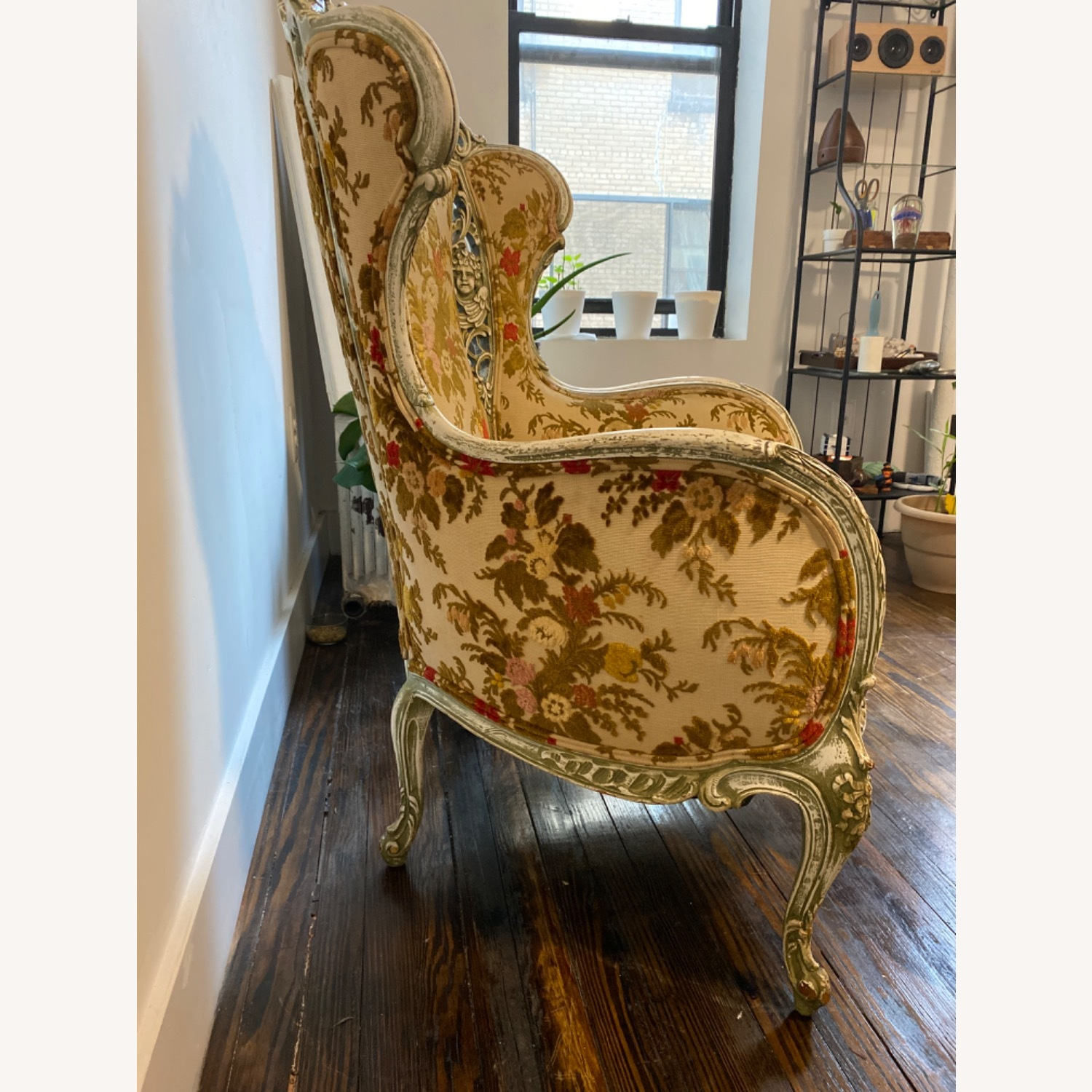 Antique French Louis XV armchair - image-3