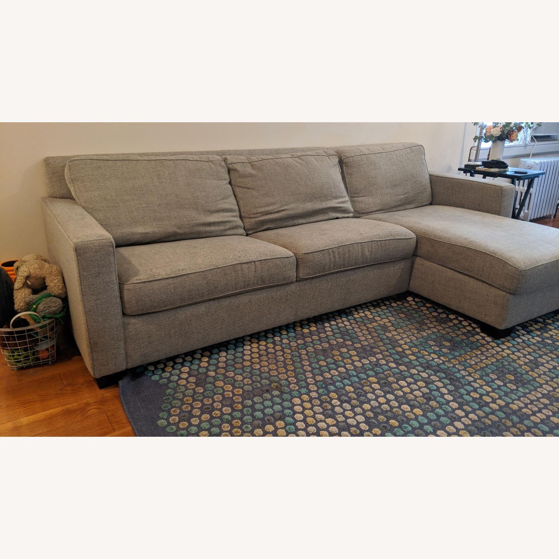 West Elm Henry Sofa Bed - image-1