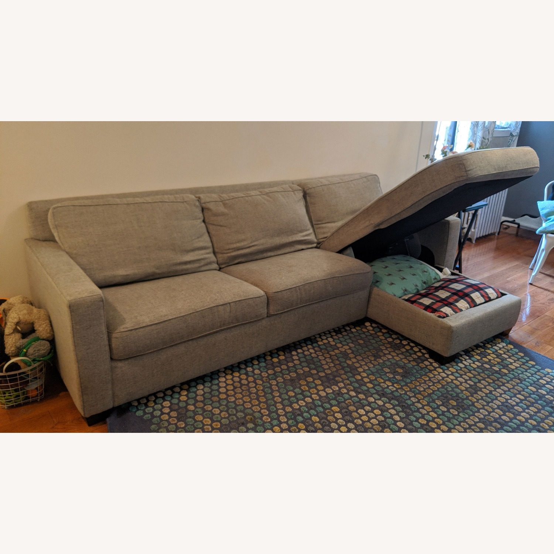 West Elm Henry Sofa Bed - image-3