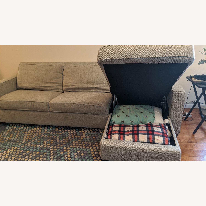West Elm Henry Sofa Bed - image-4