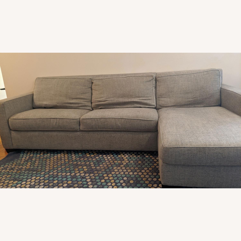 West Elm Henry Sofa Bed - image-2