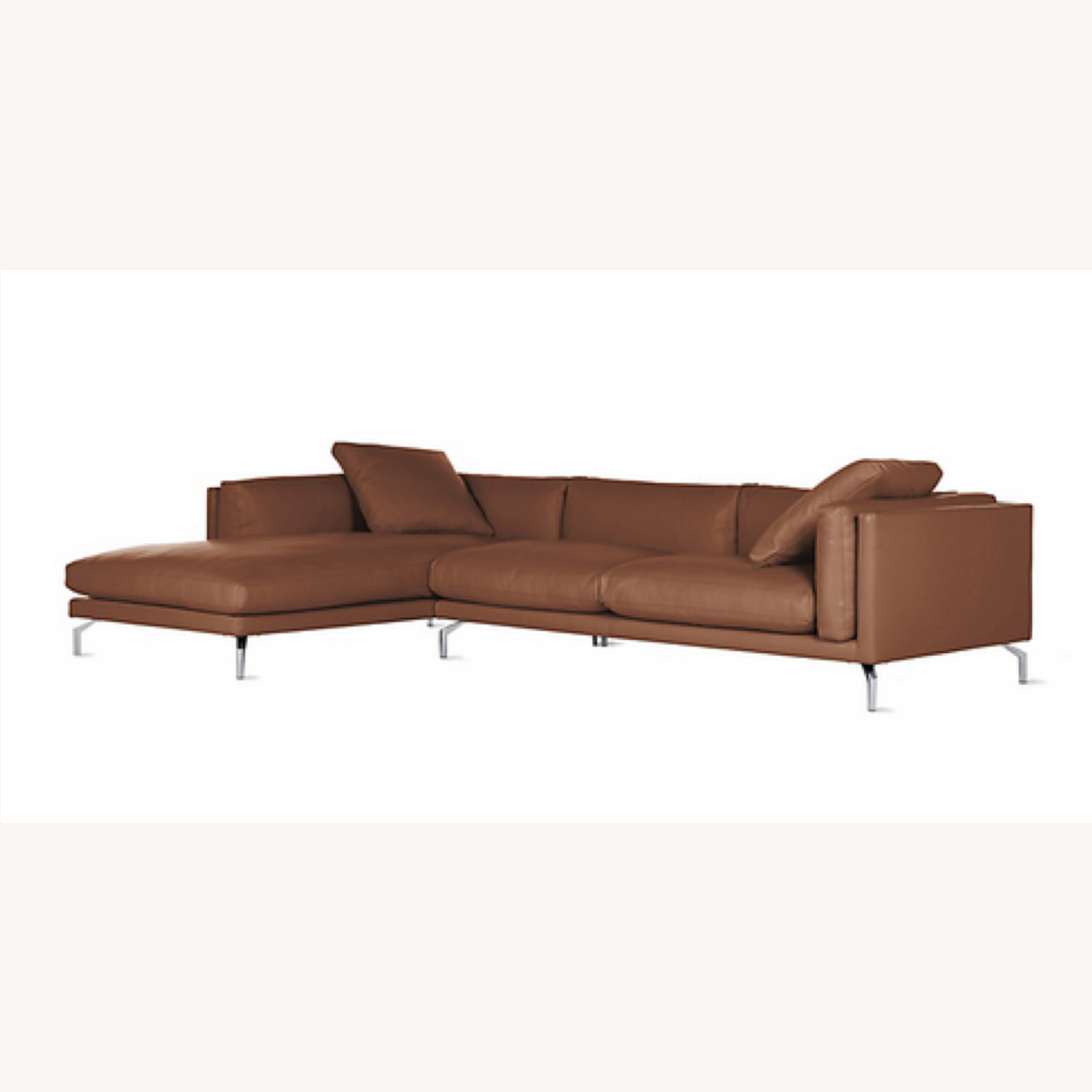 Design Within Reach Como Sectional Chase Leather - image-5