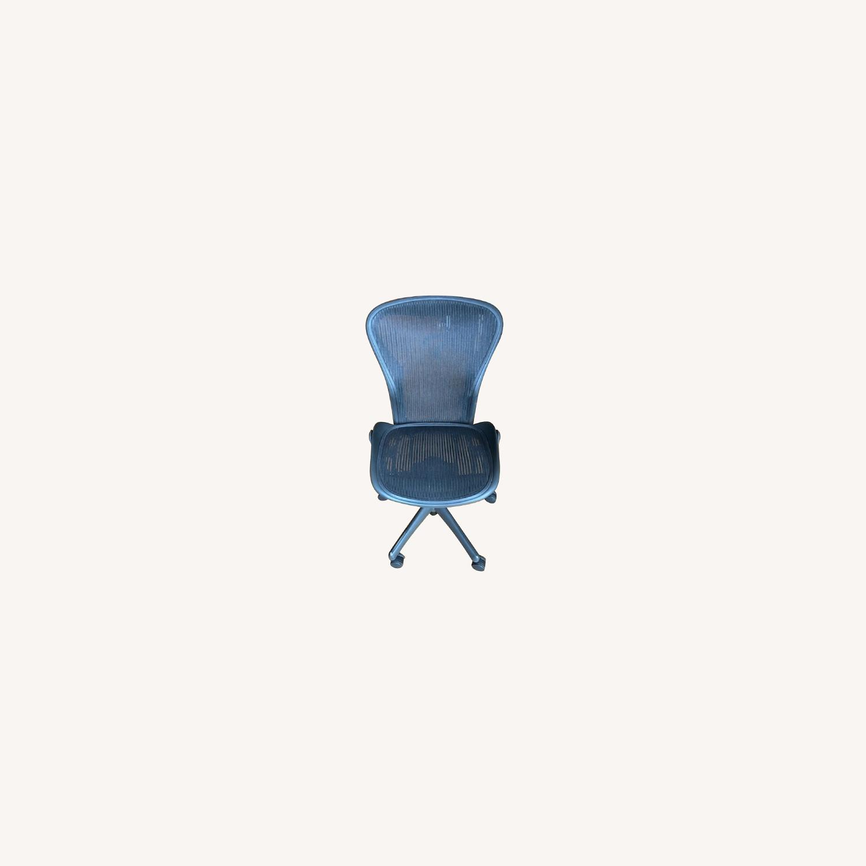 Herman Miller Armless Aeron Chair - image-0
