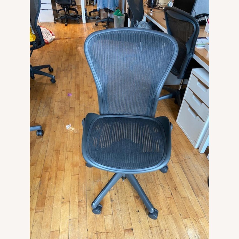 Herman Miller Armless Aeron Chair - image-1