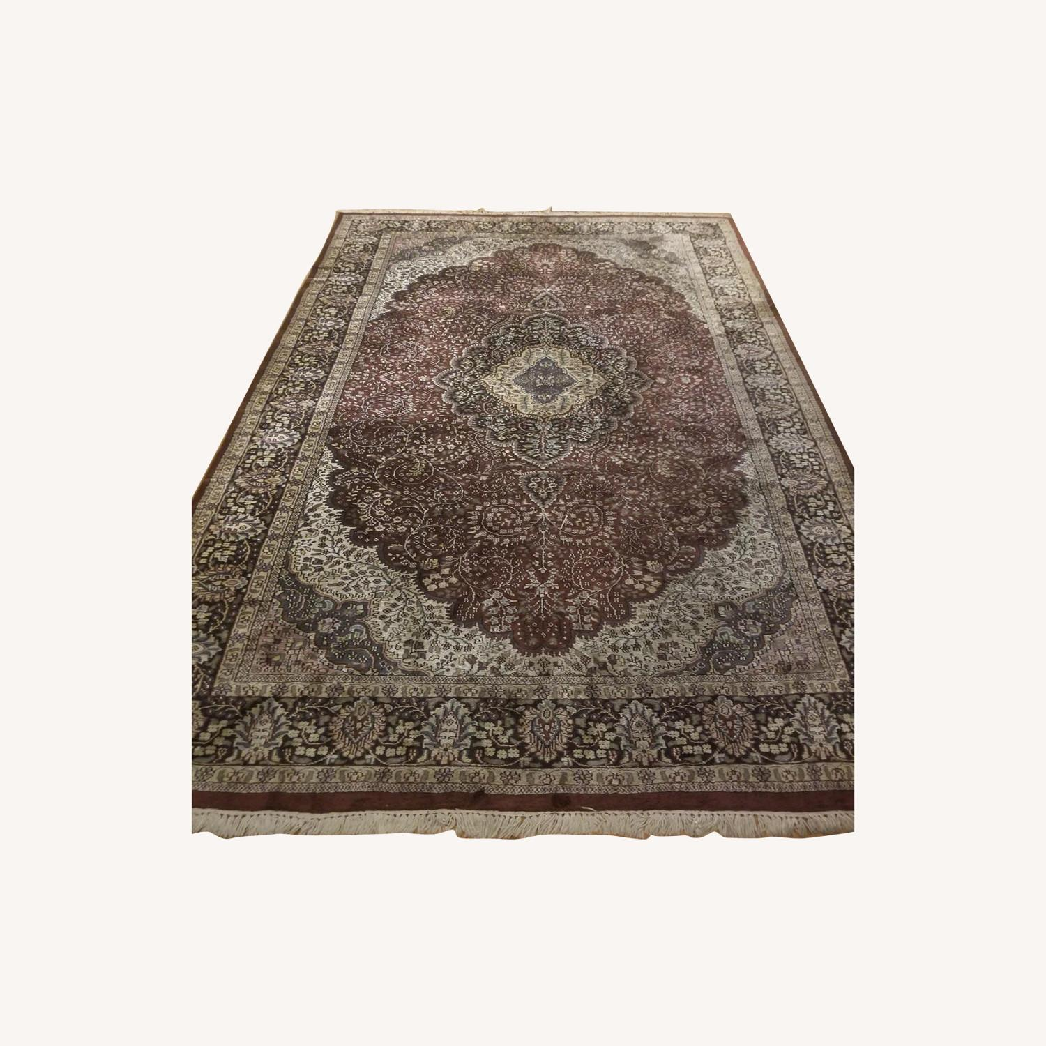 Traditional Persian Area Rug - image-0