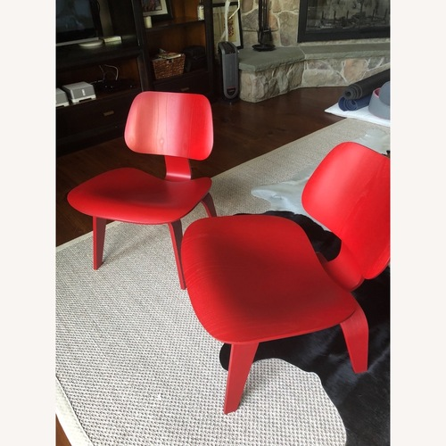 Used Herman Miller Authentic Eames Plywood Lounge Chairs for sale on AptDeco