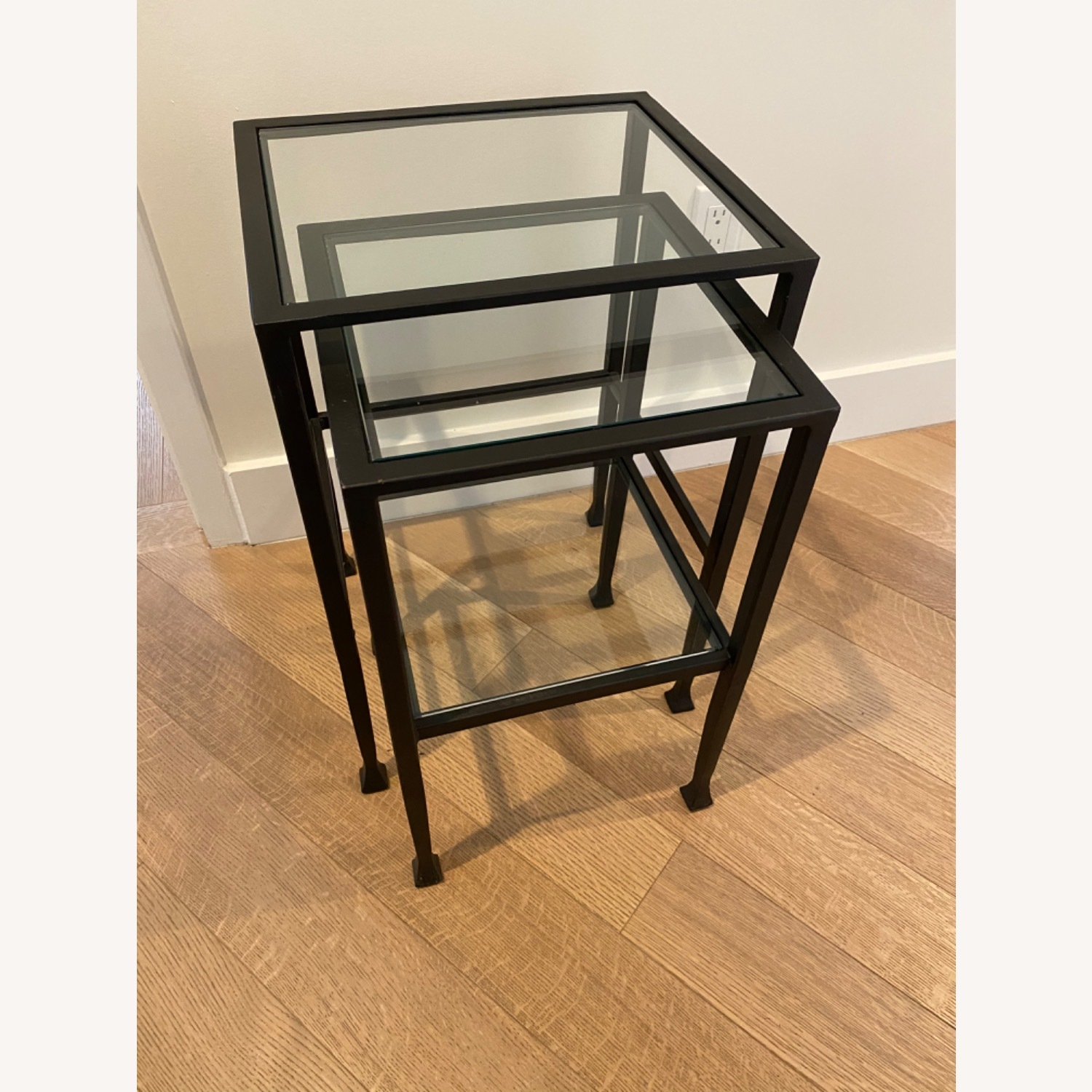 Pottery Barn Tanner Nesting End Tables - image-3