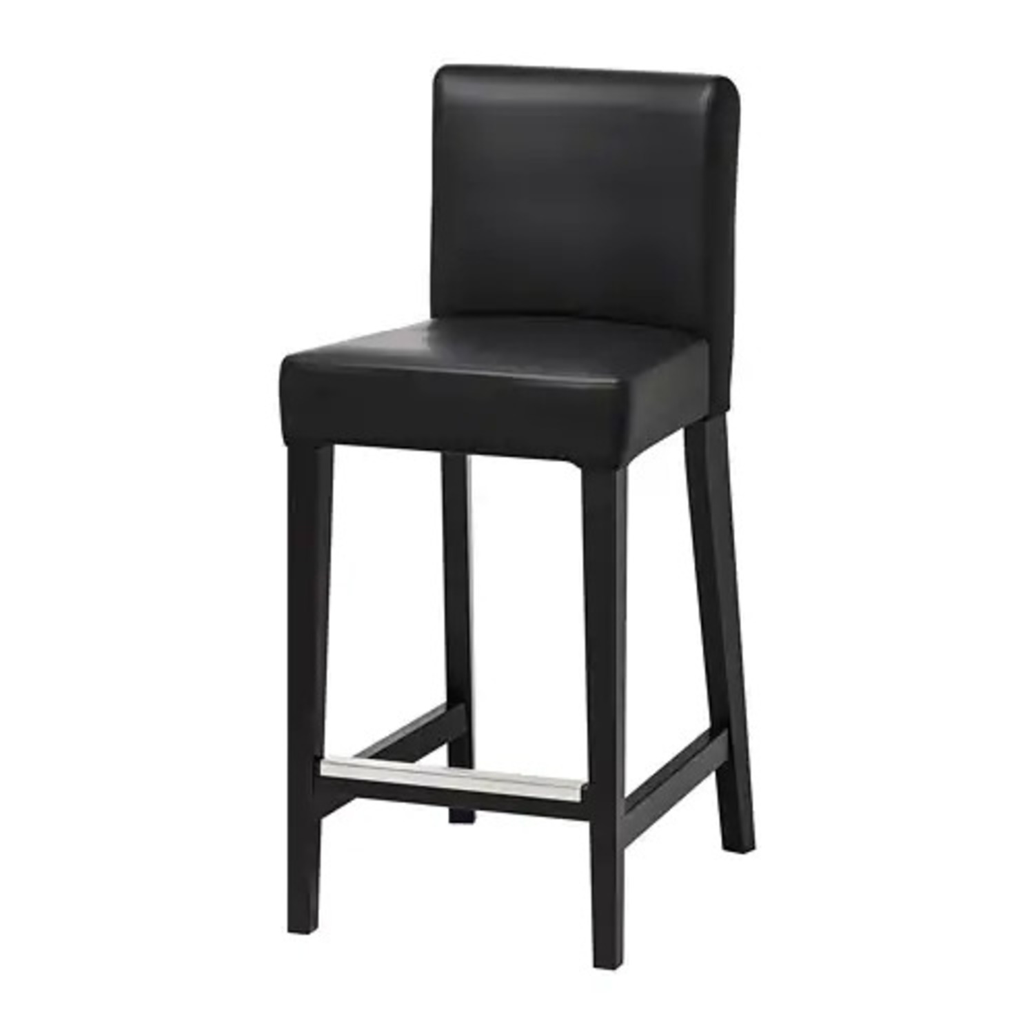 IKEA Leather Bar Stools - image-1