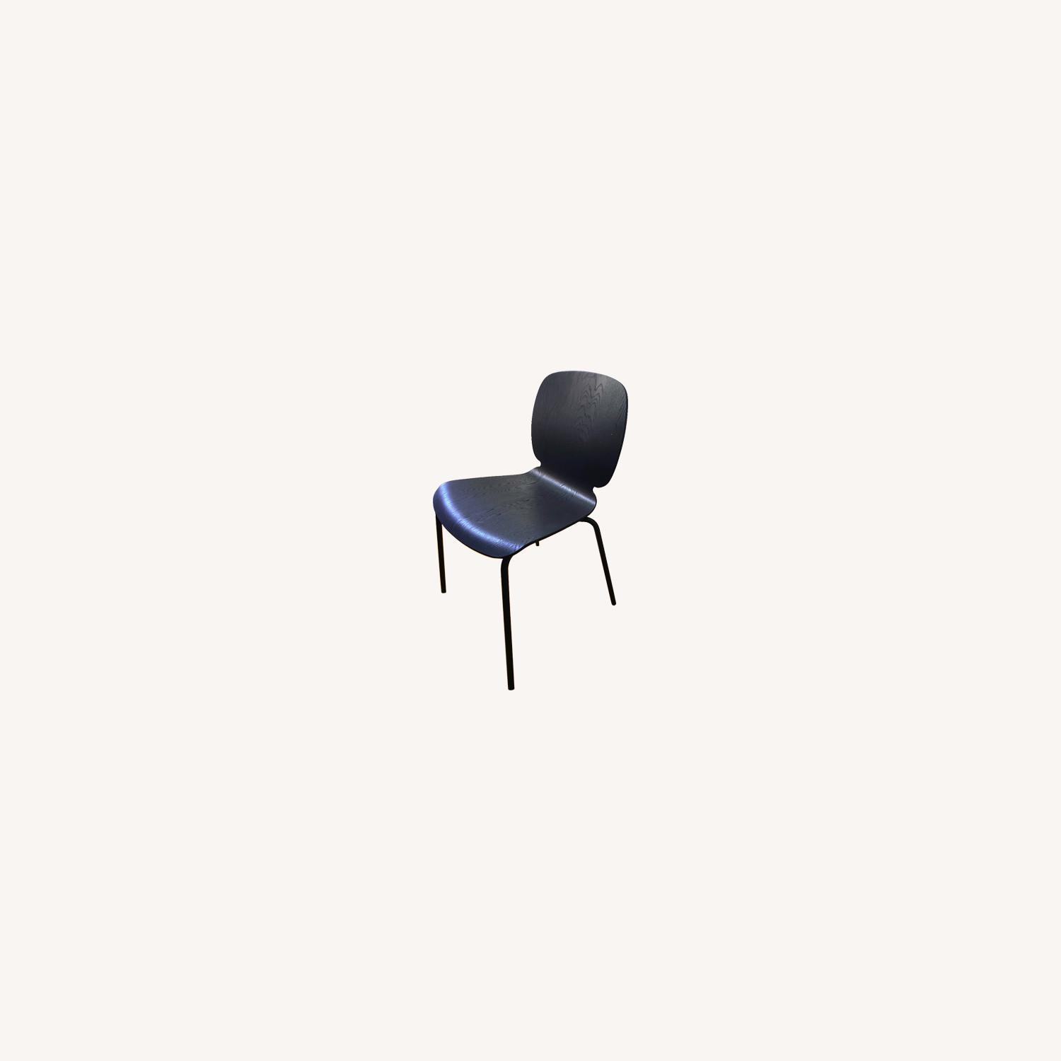IKEA Black Dining Room Chairs - image-0