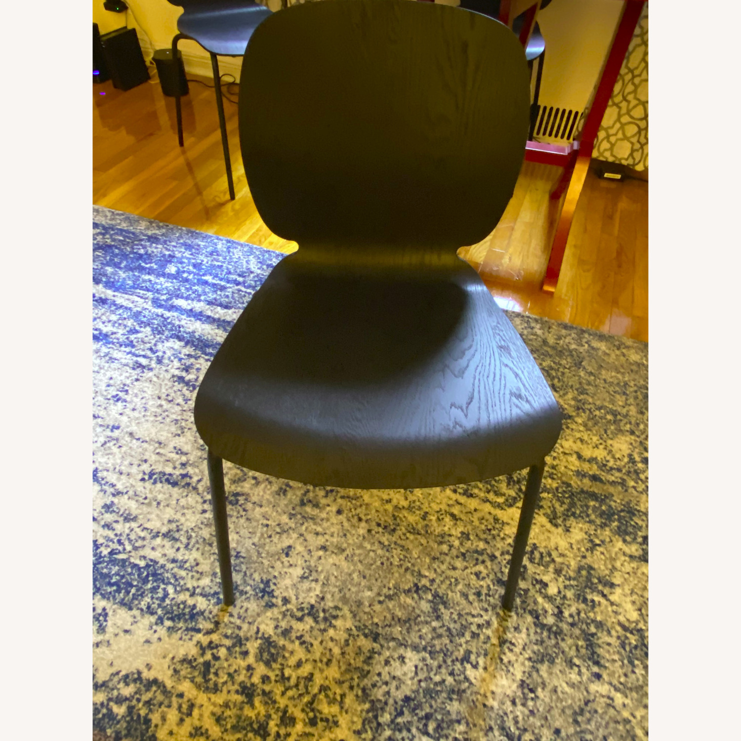 IKEA Black Dining Room Chairs - image-2