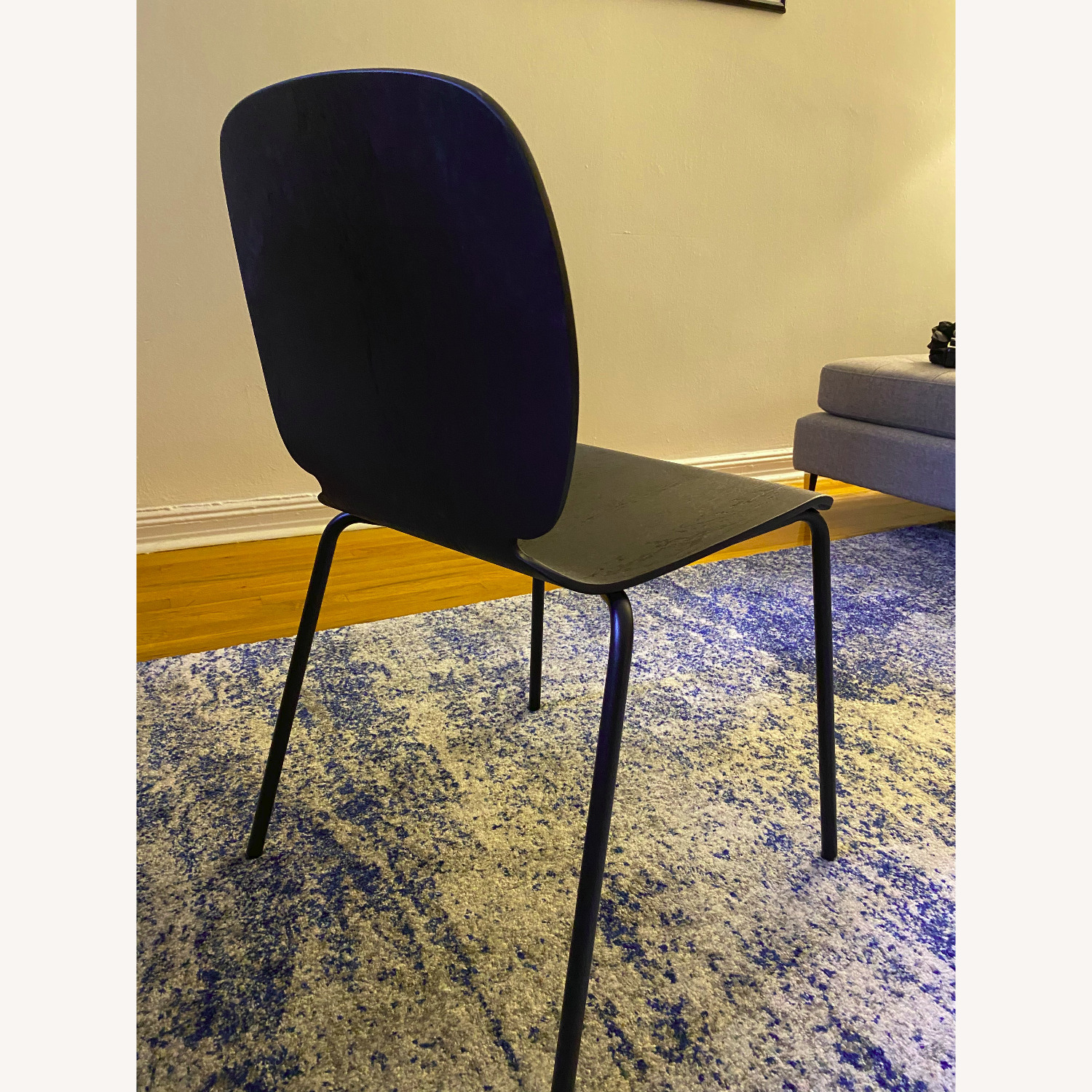IKEA Black Dining Room Chairs - image-3