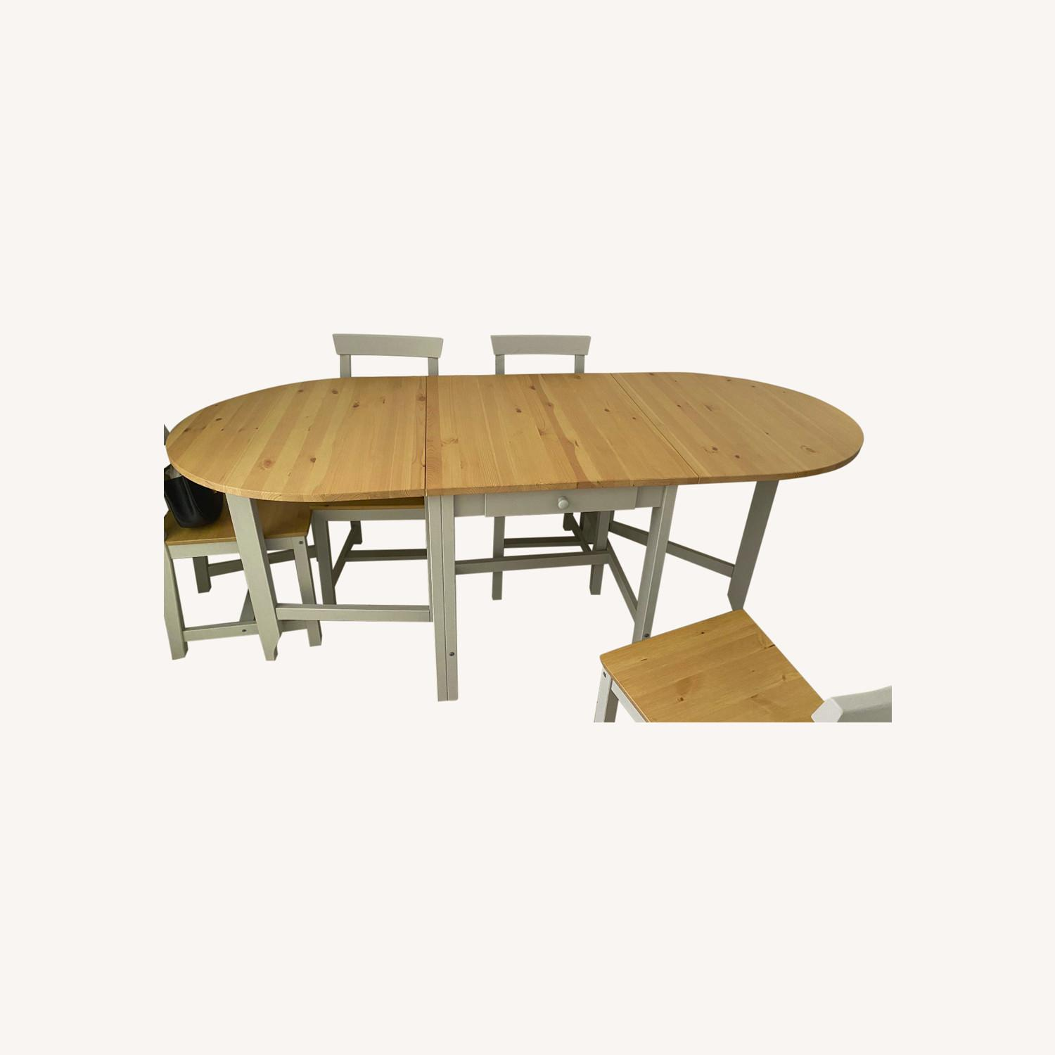 Picture of: Ikea Kitchen Table And Chair Set Aptdeco
