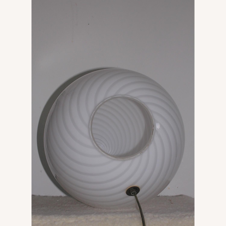 1960s Murano Venini Egg Lamp - image-3