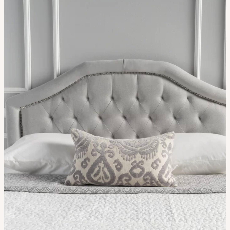 Wayfair Upholstered Panel Headboard for Queen Bed - image-0