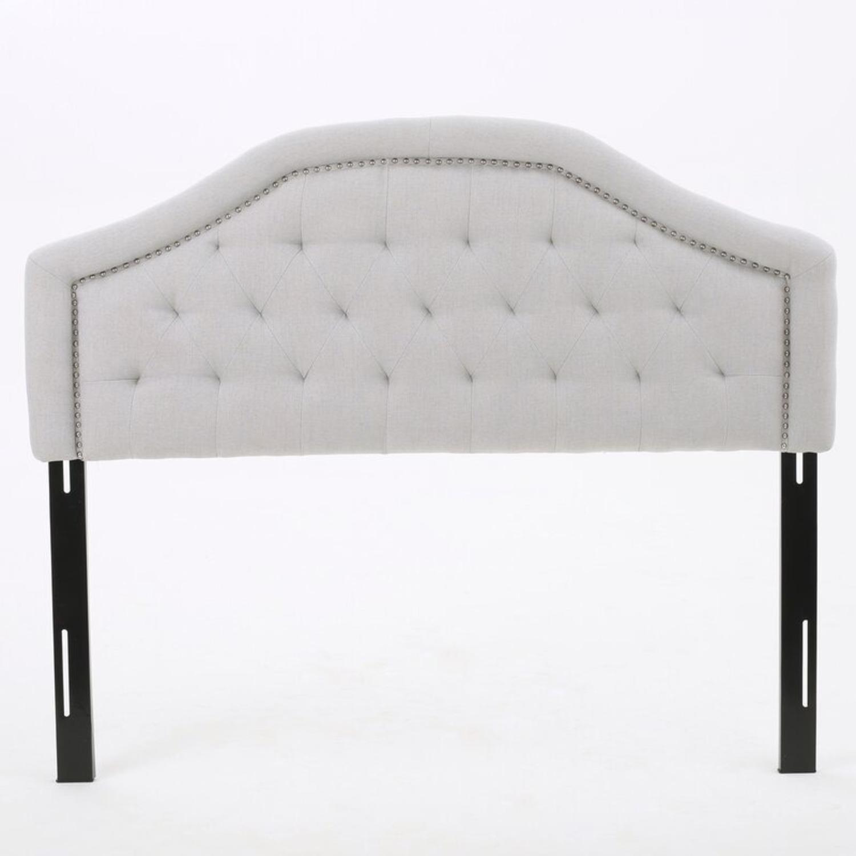 Wayfair Upholstered Panel Headboard for Queen Bed - image-1