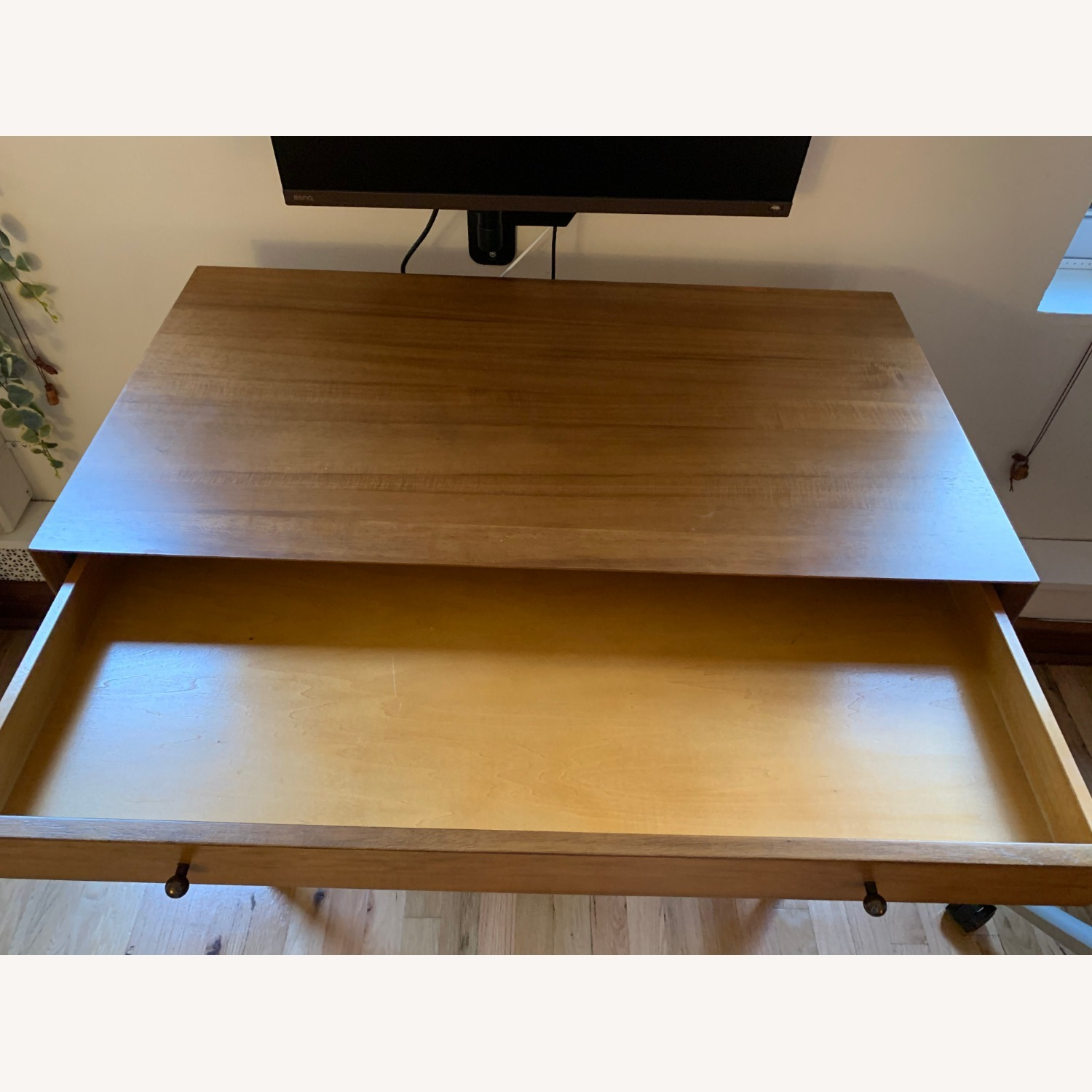 West Elm Mid Century Mini Desk - image-5