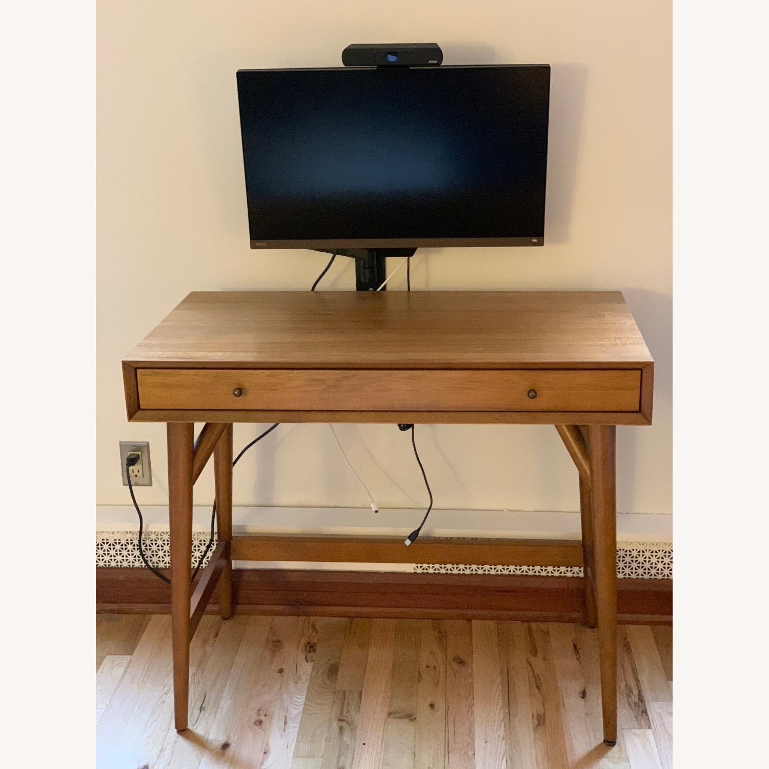 West Elm Mid Century Mini Desk - image-1