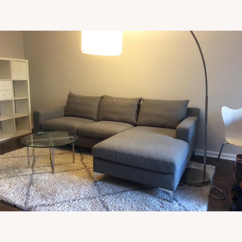 Interior Define Gray Sloan Sectional Sofa - image-5