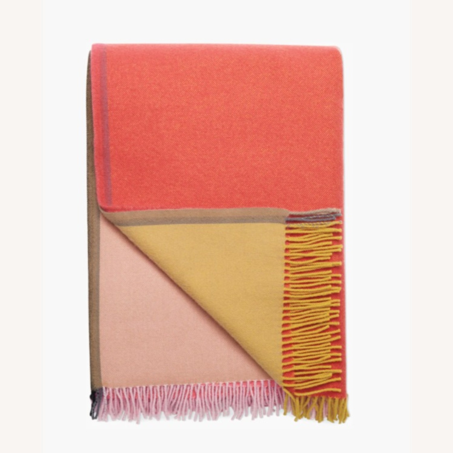 Design Within Reach Color Block Throw - image-1