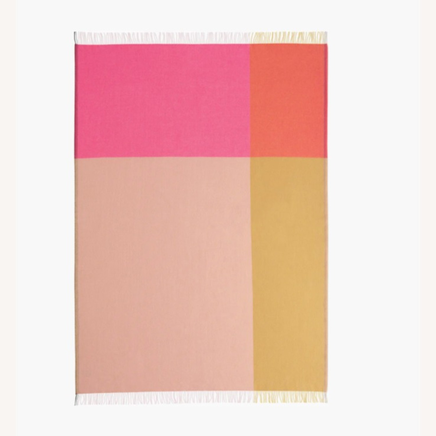 Design Within Reach Color Block Throw - image-0