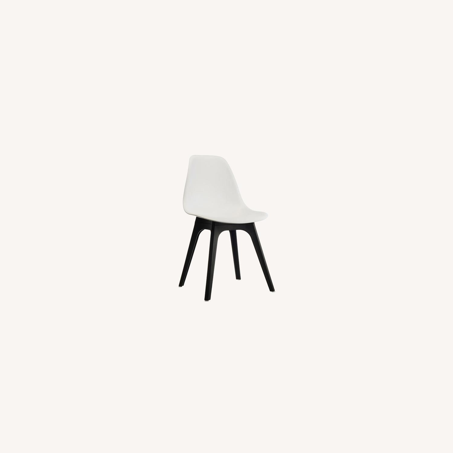 Side Chair In White Color Finish - image-4