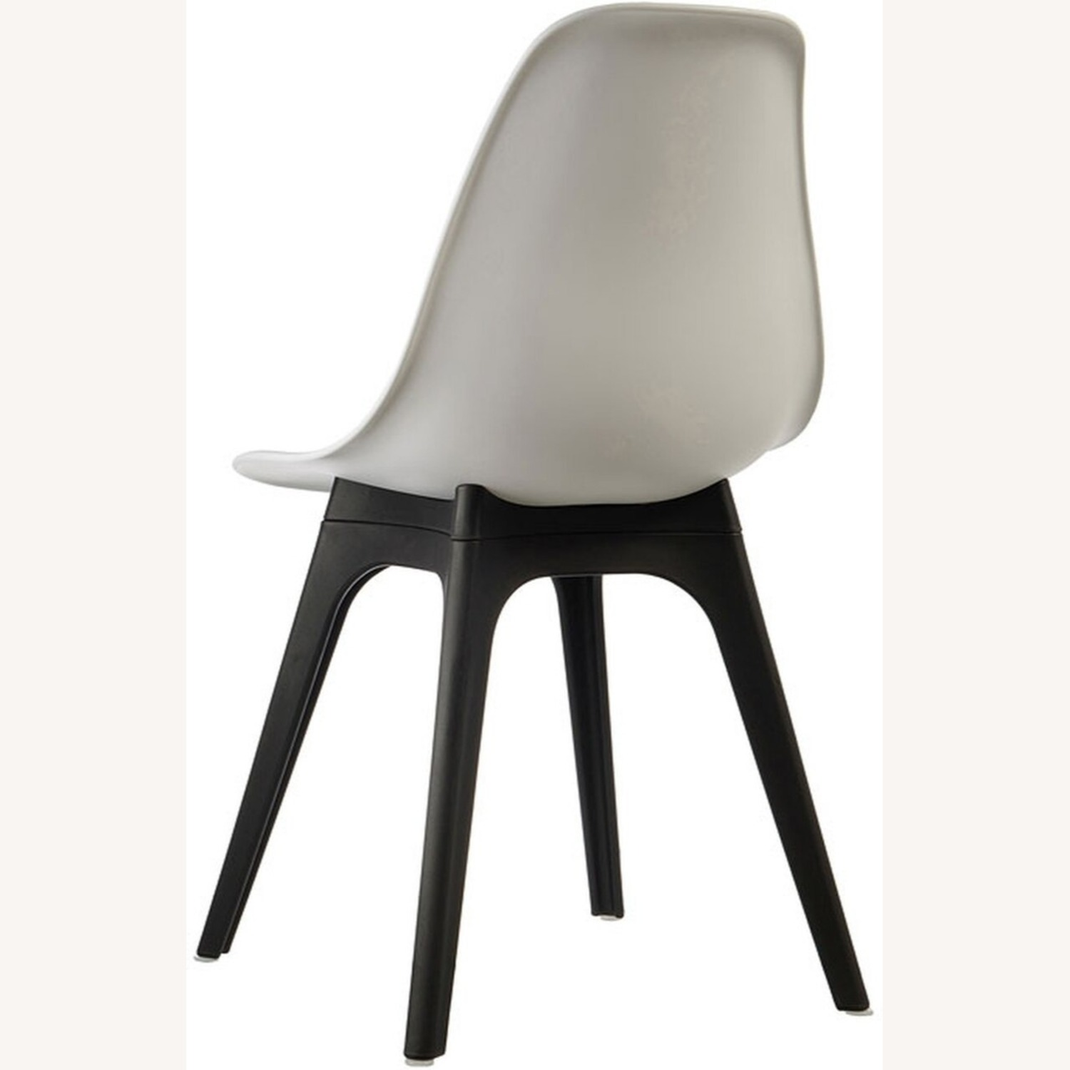 Side Chair In White Color Finish - image-3