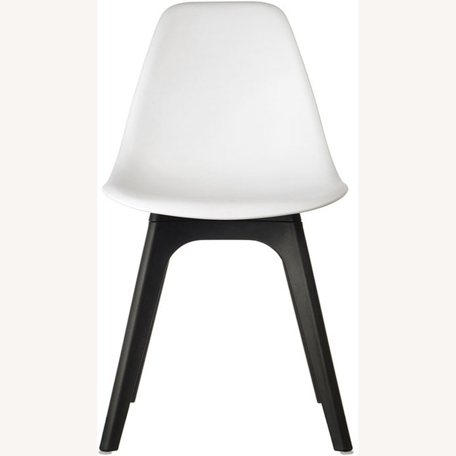 Side Chair In White Color Finish - image-1