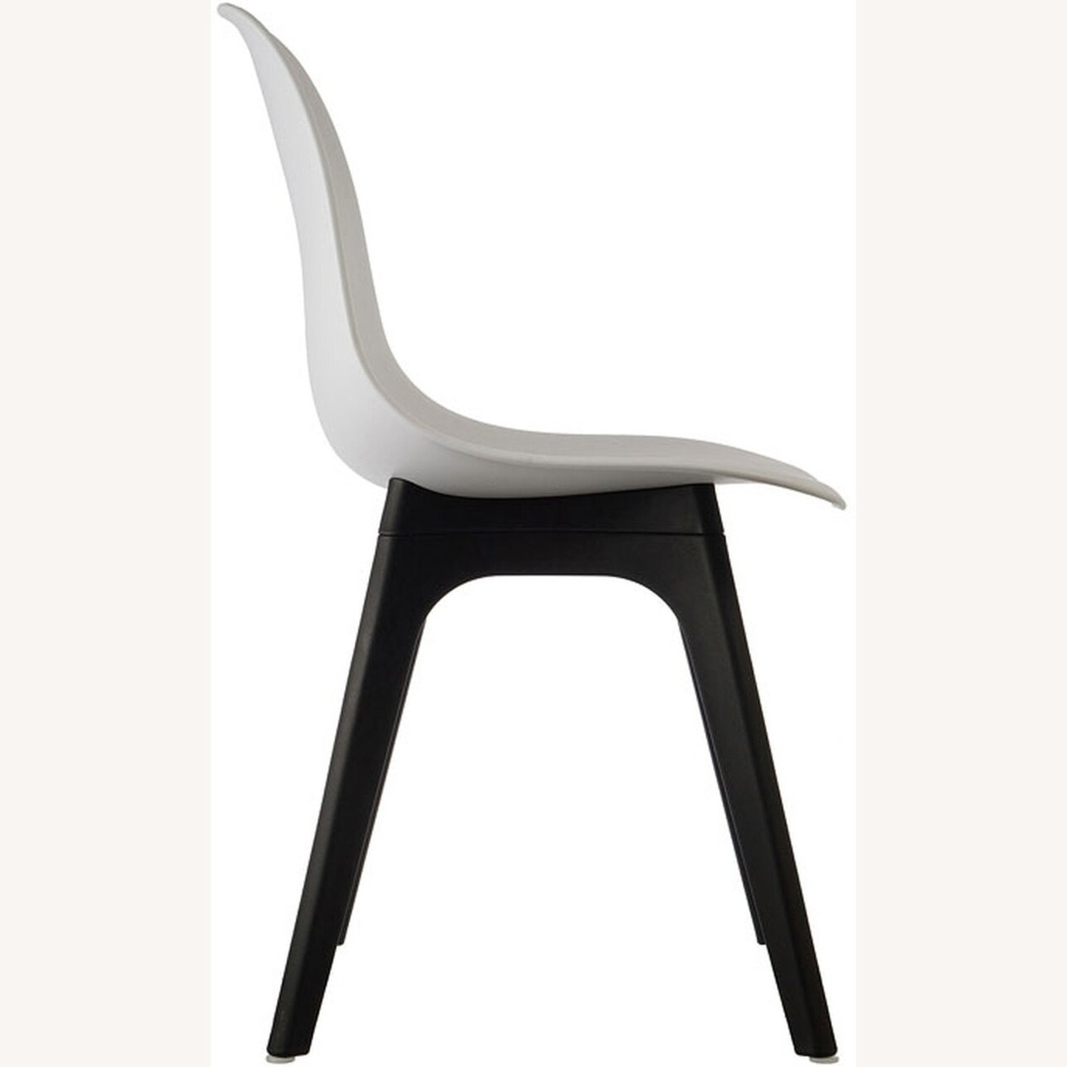 Side Chair In White Color Finish - image-2