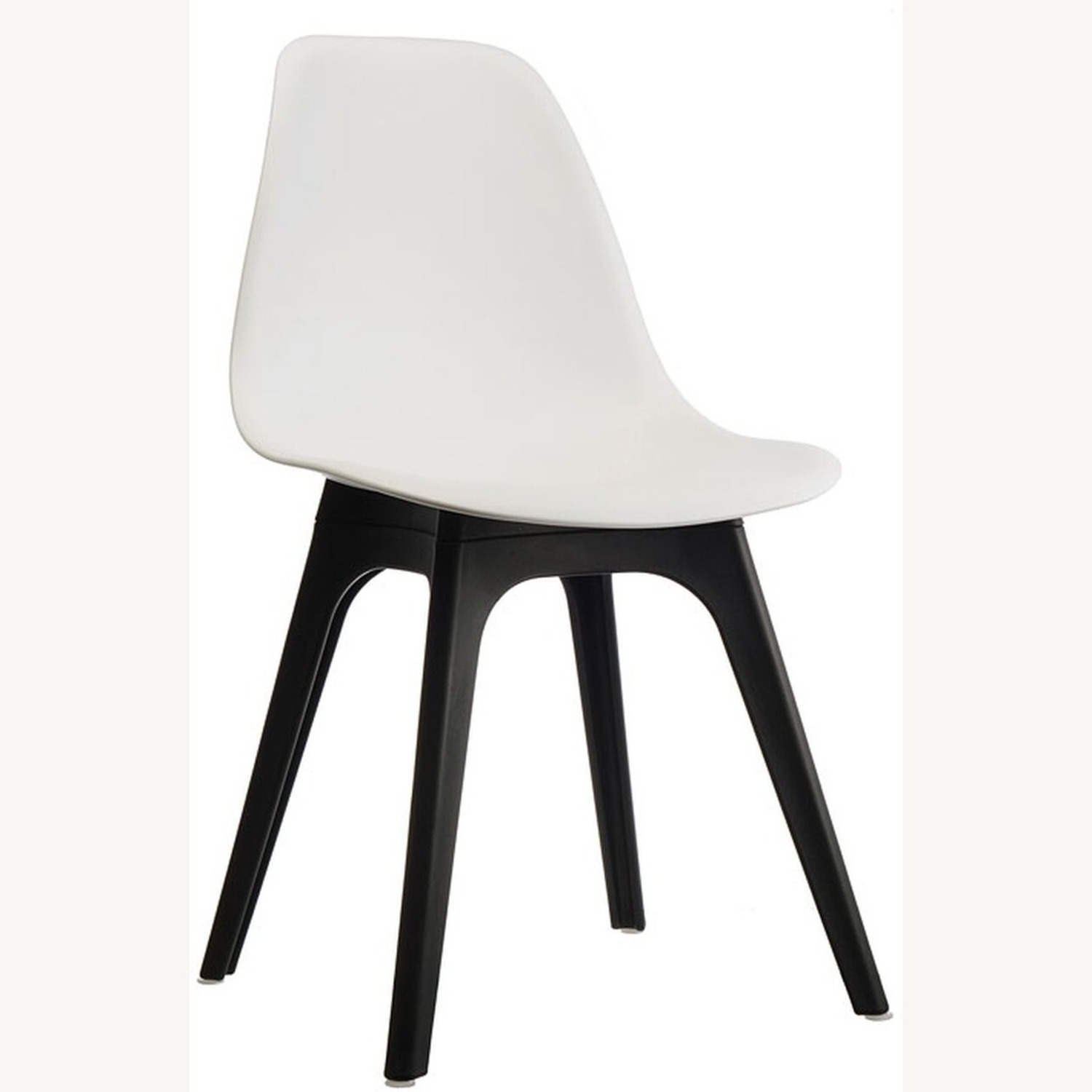 Side Chair In White Color Finish - image-0