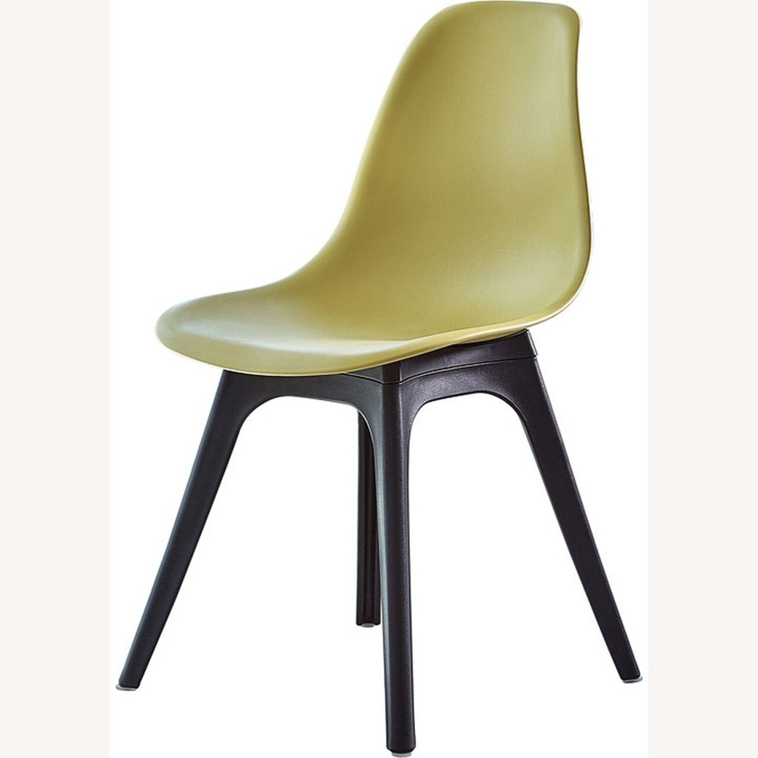 Side Chair In Lemon Color Finish - image-0