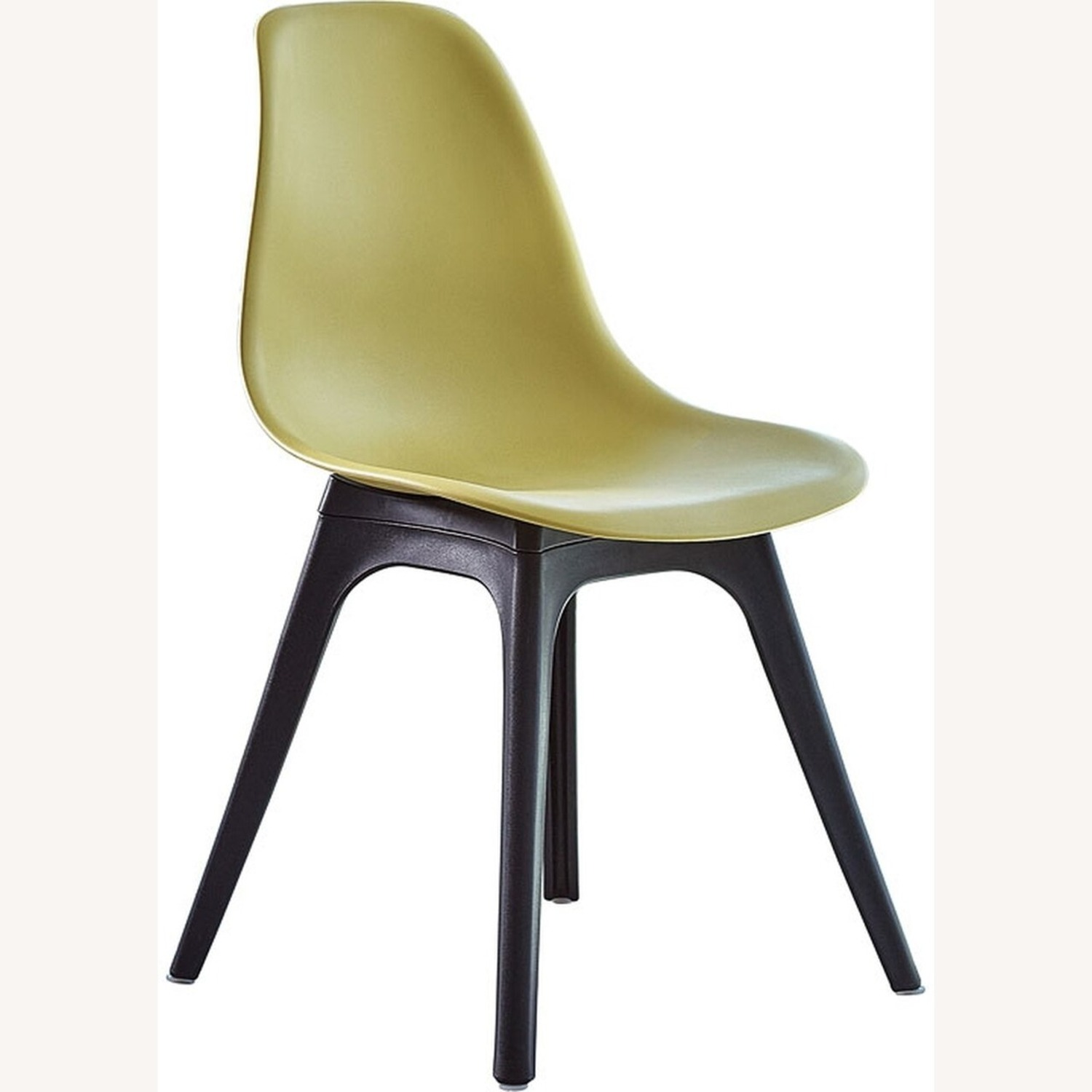 Side Chair In Lemon Color Finish - image-1