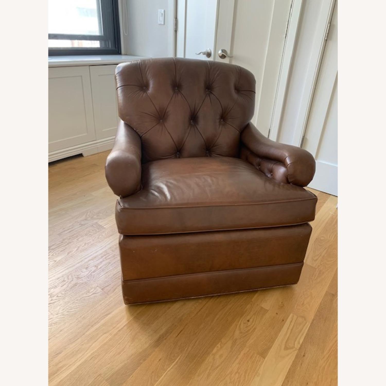 Ferrell + Mittman Leather Club Chair - image-3