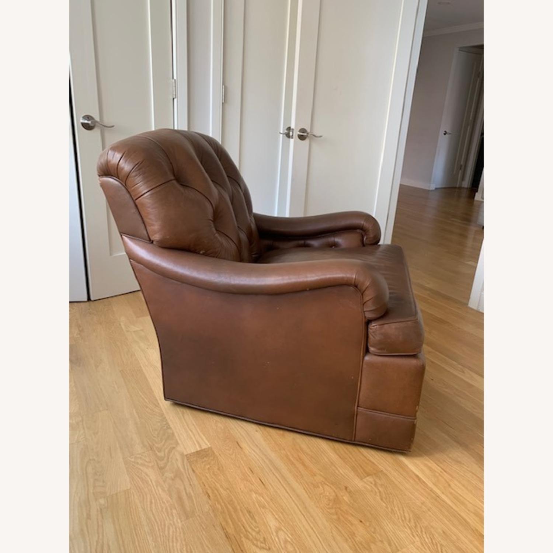 Ferrell + Mittman Leather Club Chair - image-1
