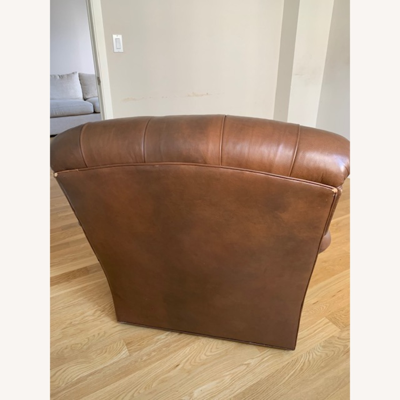 Ferrell + Mittman Leather Club Chair - image-5