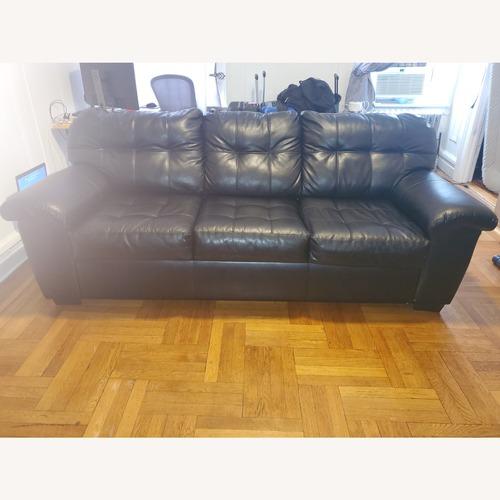 Used Bob's Furniture Black Sleeper Sofa for sale on AptDeco
