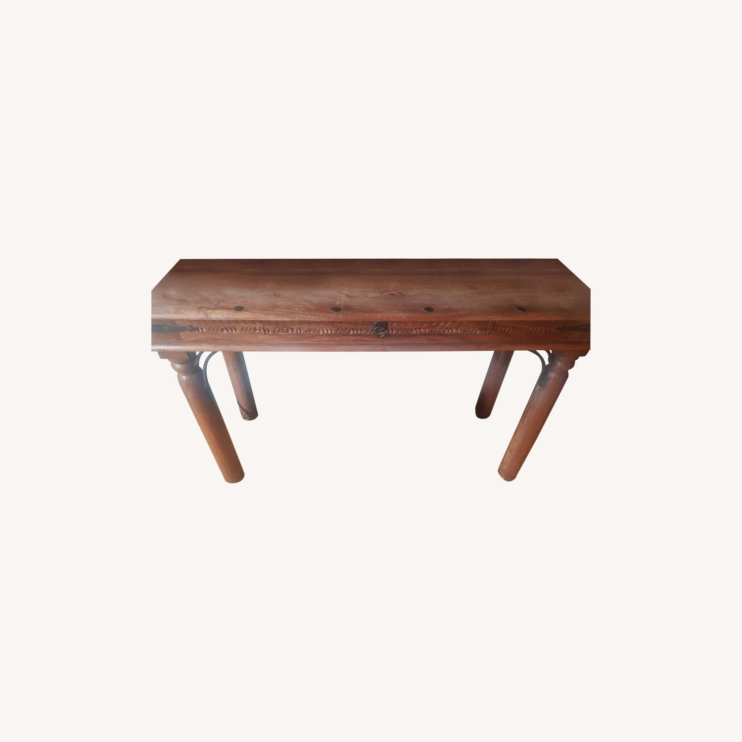 Storehouse Furniture Wooden Console - image-0