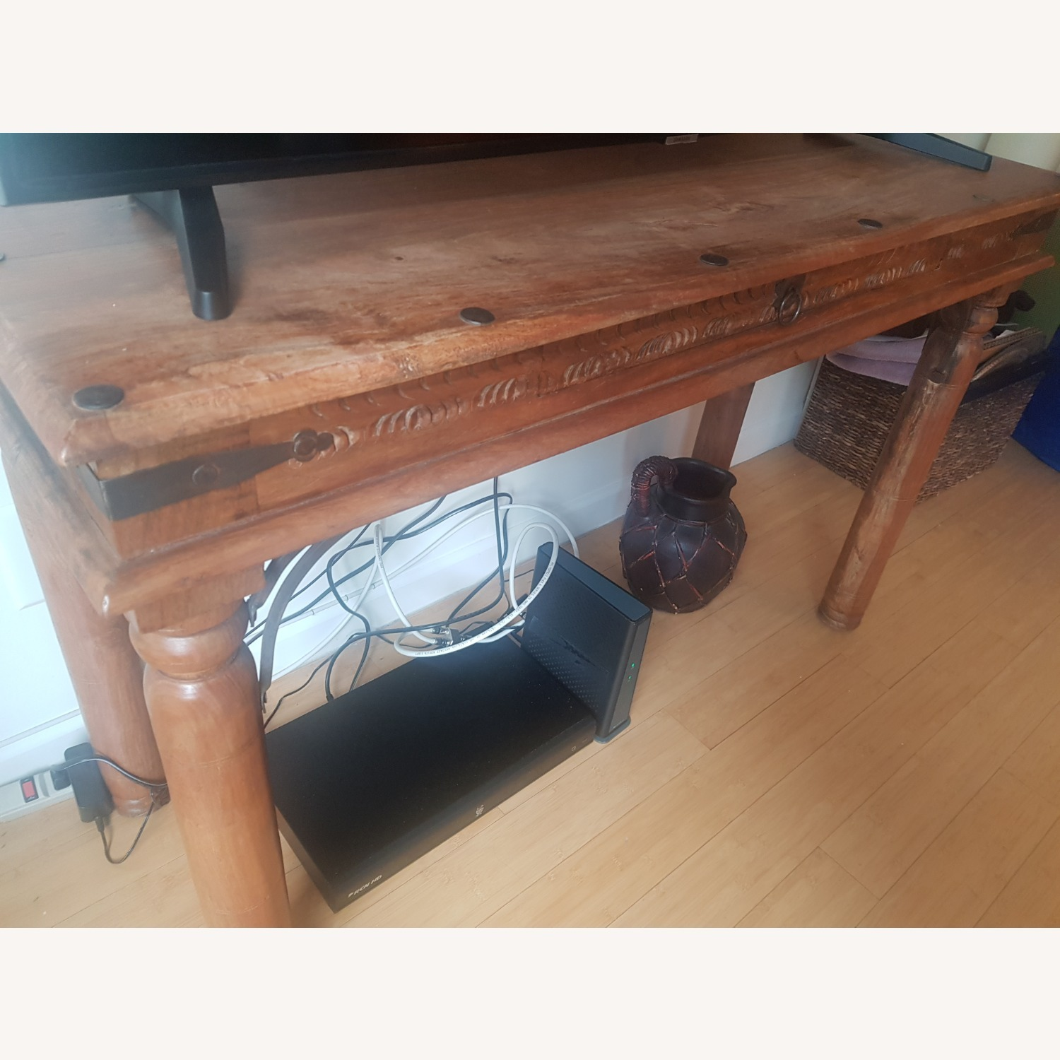 Storehouse Furniture Wooden Console - image-3