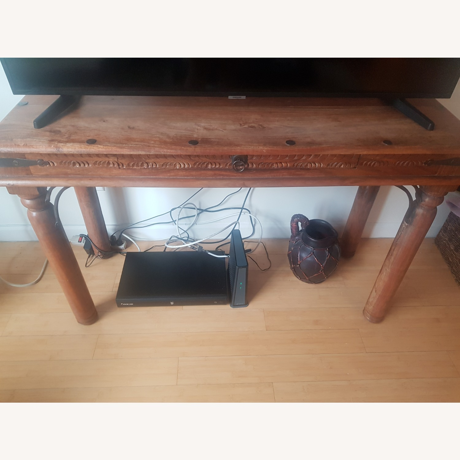 Storehouse Furniture Wooden Console - image-1