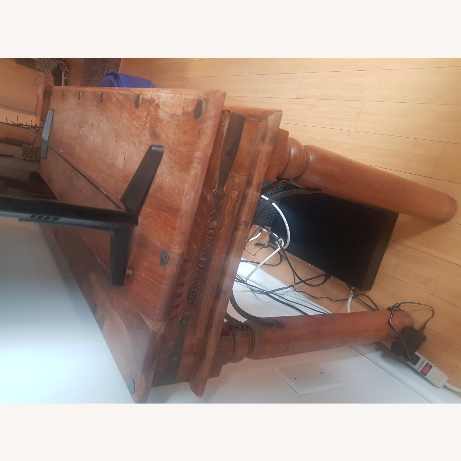 Storehouse Furniture Wooden Console - image-5