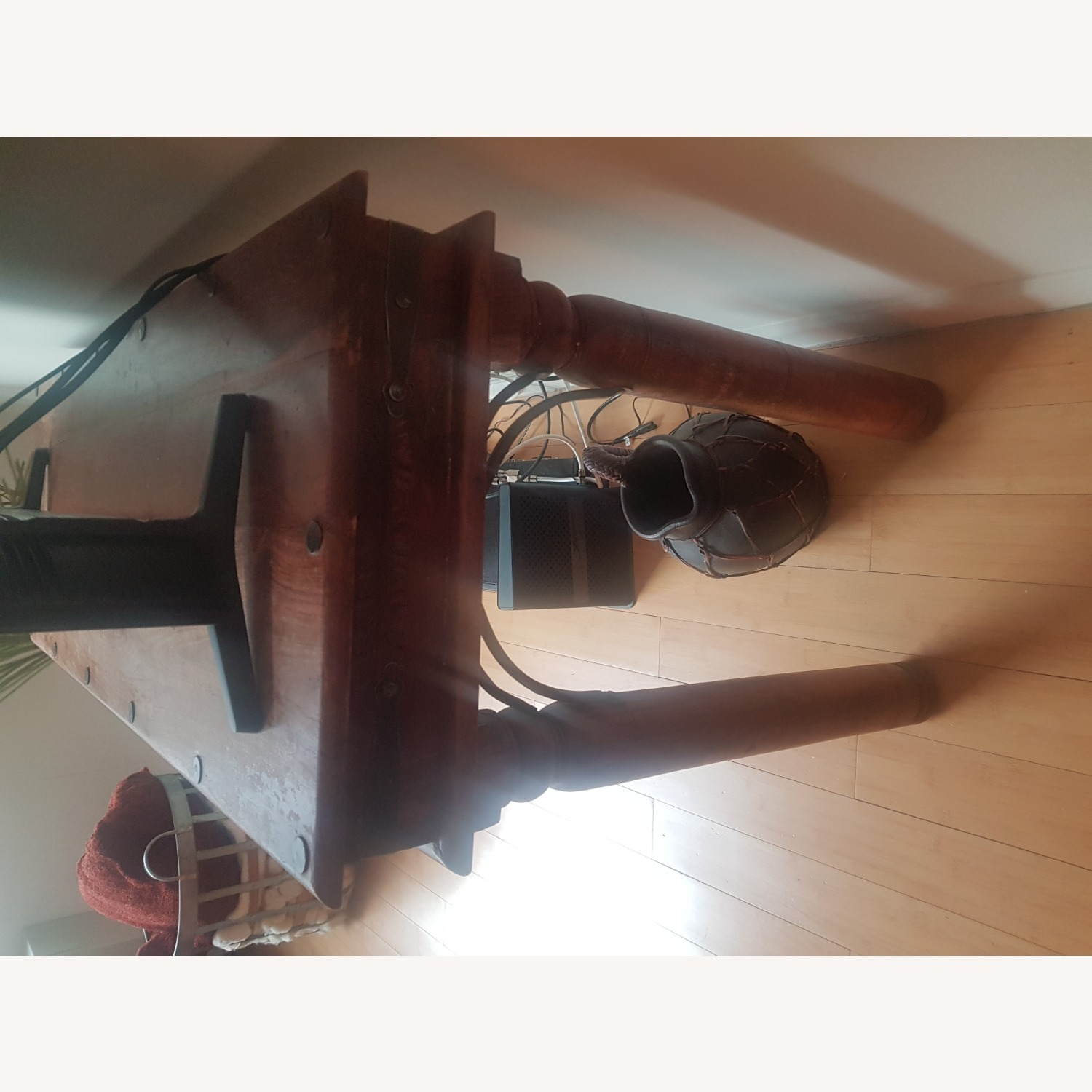Storehouse Furniture Wooden Console - image-4