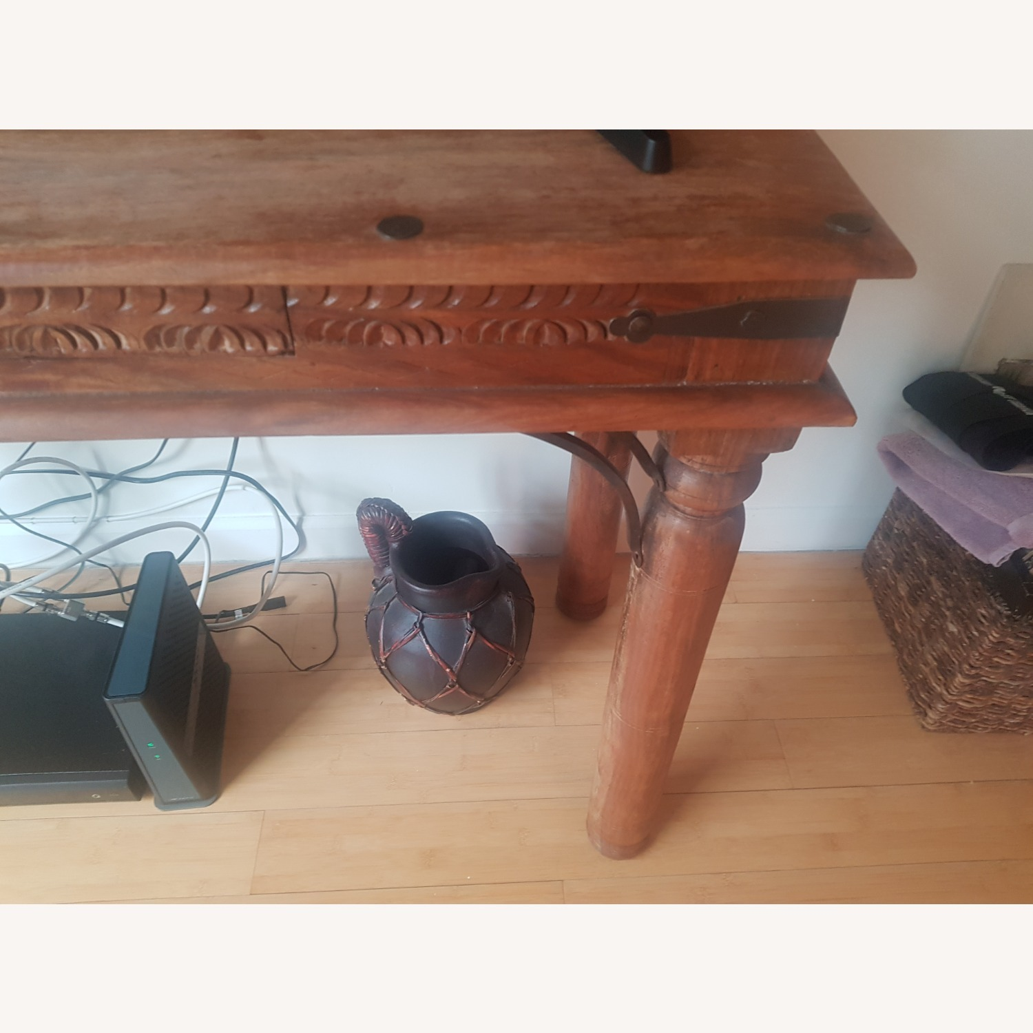 Storehouse Furniture Wooden Console - image-2