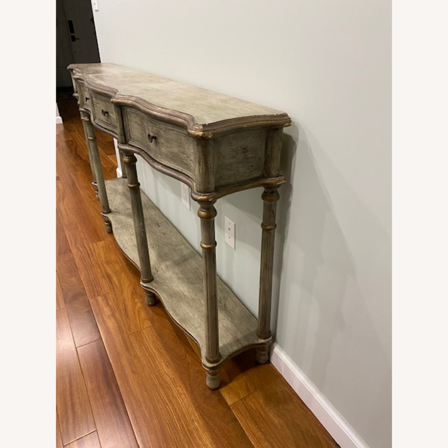 Crestview Collection Victoria 3 Drawers Console Table - image-6