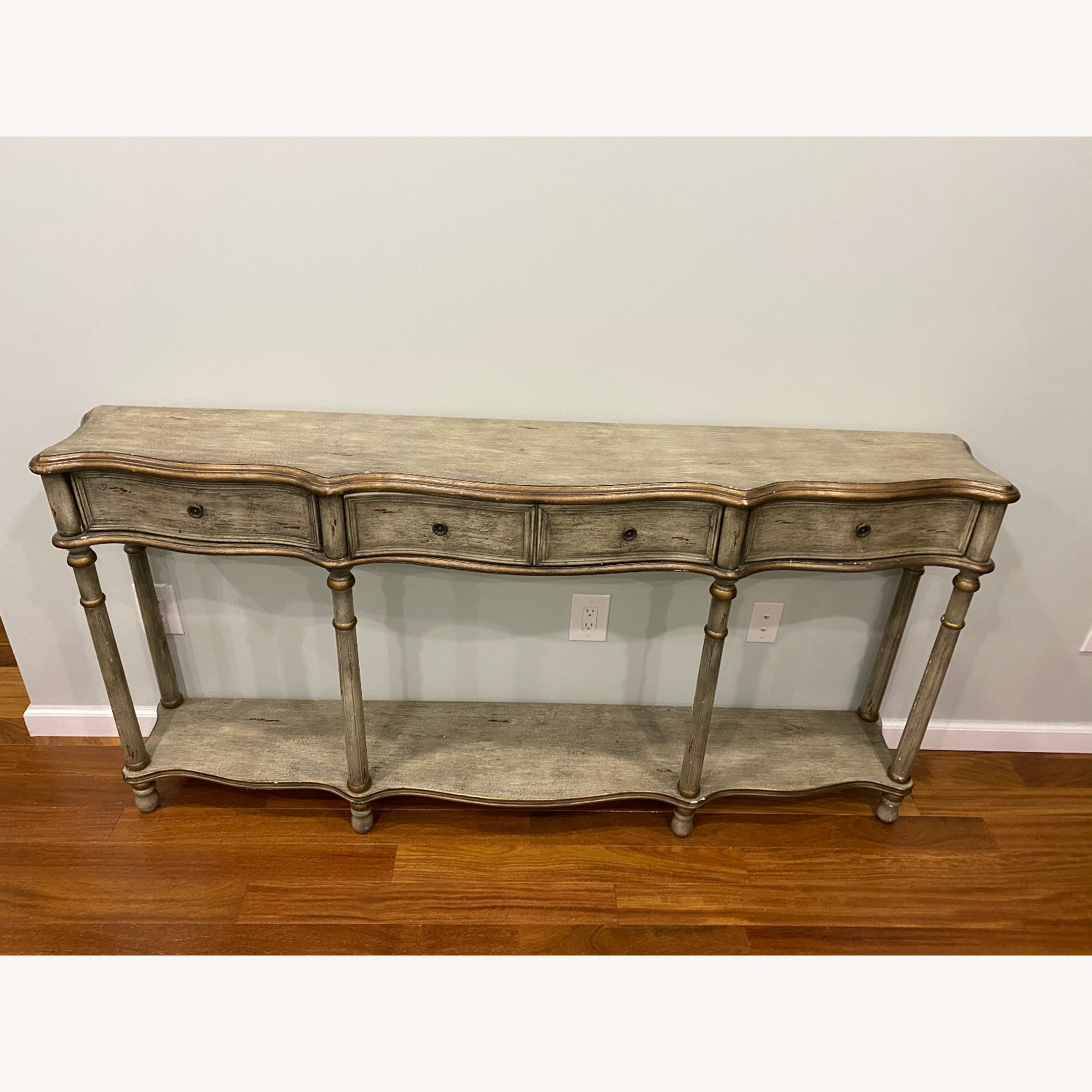 Crestview Collection Victoria 3 Drawers Console Table - image-3