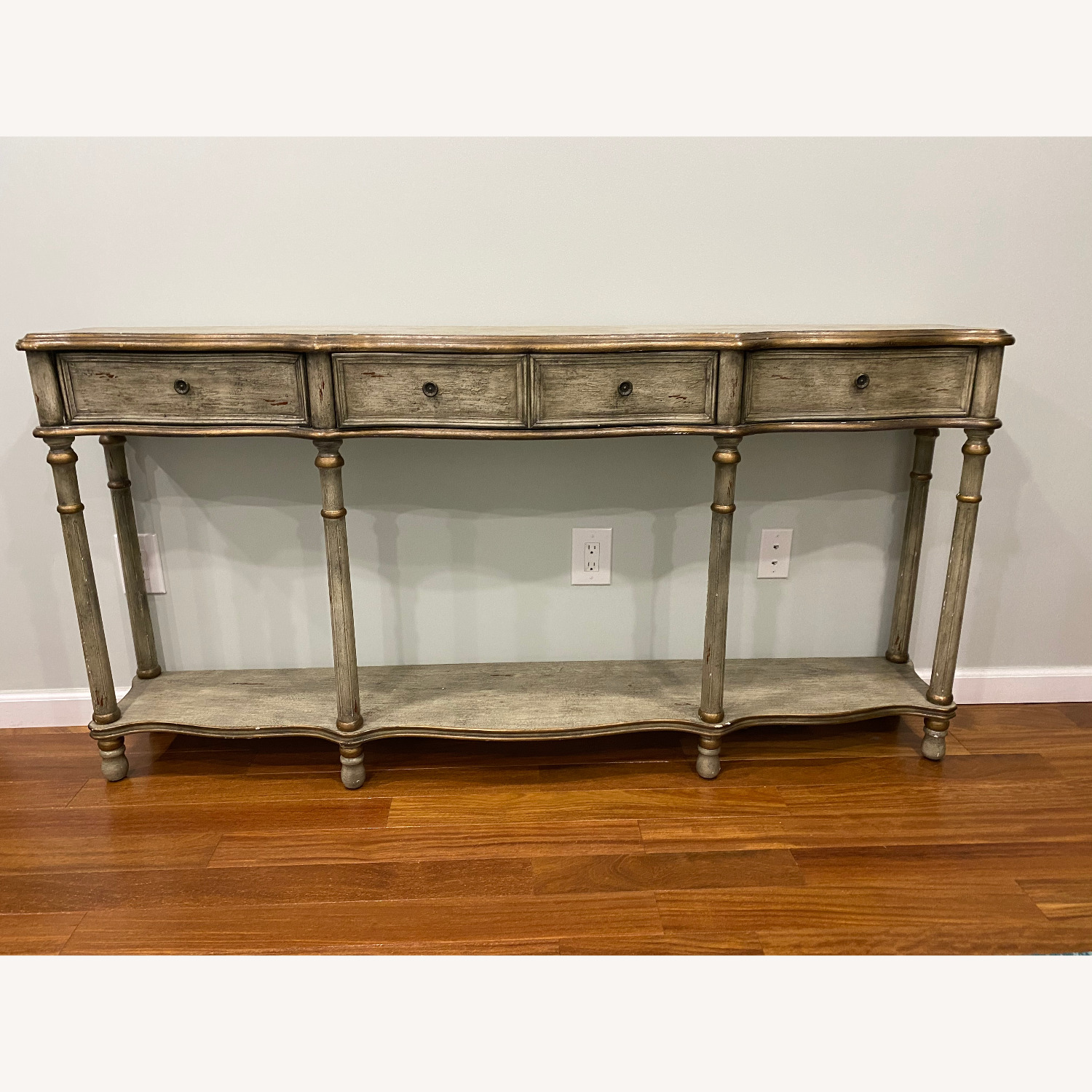 Crestview Collection Victoria 3 Drawers Console Table - image-5
