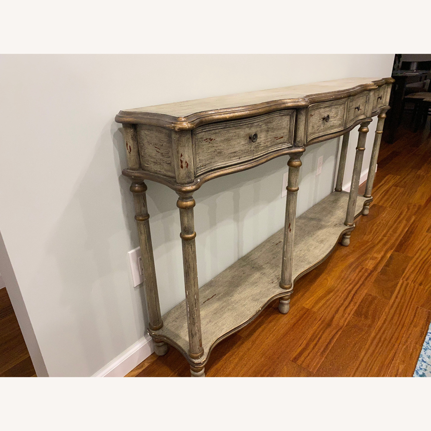 Crestview Collection Victoria 3 Drawers Console Table - image-8