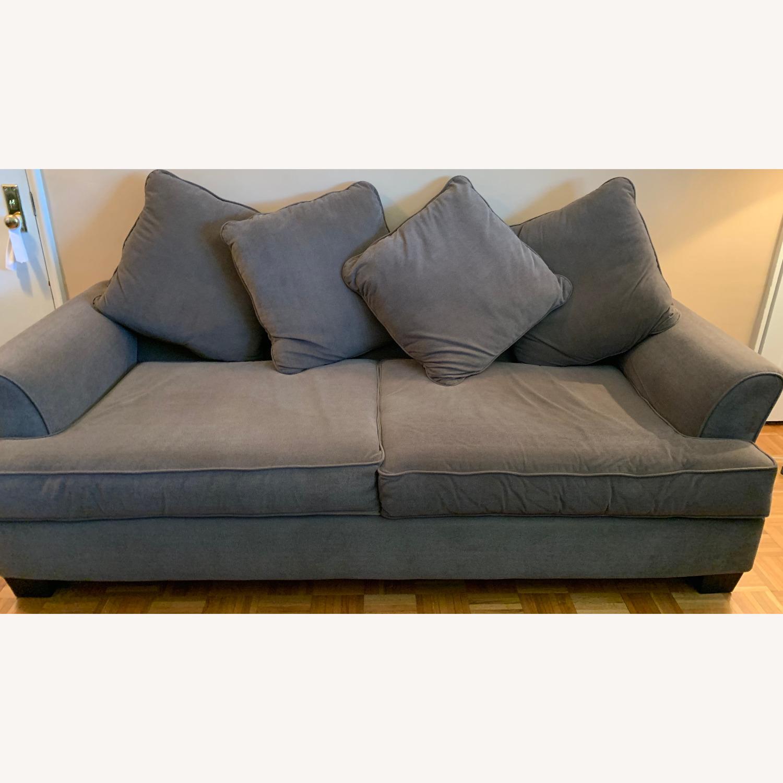 Excellent Condition Queen Size Sleep Sofa - image-0